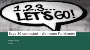 Sage 50 connected - die neuen Funktionen